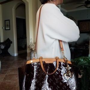 Louis Vuitton Brea Amarante Vernis PM Handbag